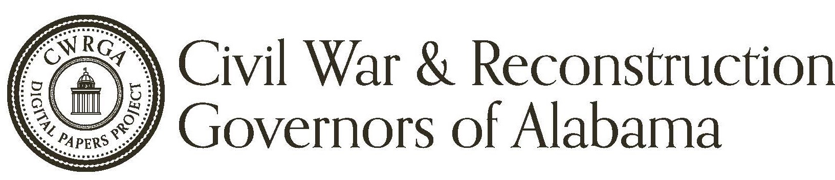 Civil War and Reconstruction Governors of Alabama Digital Papers Project