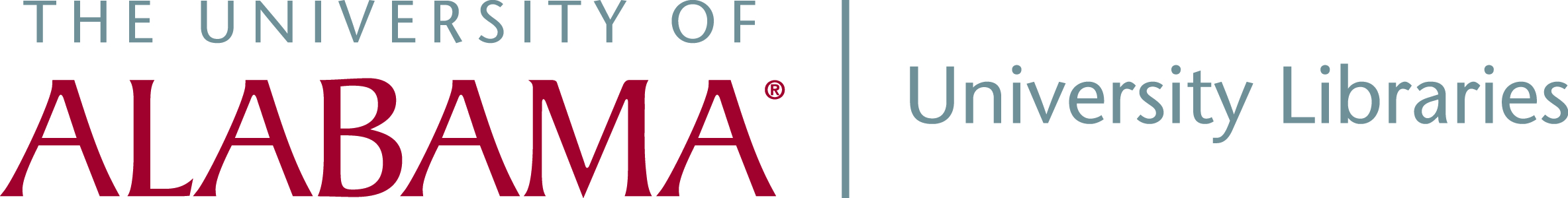 University of Alabama Libraries Logo