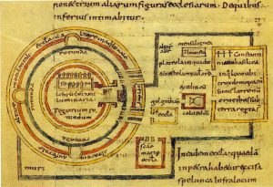 Church of Holy Sepulchre - from a medieval codex