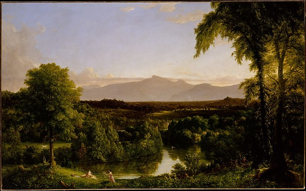 Painting by Thomas Cole of the Catskill Mountains