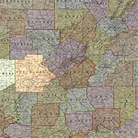 An image of a map of Alabama